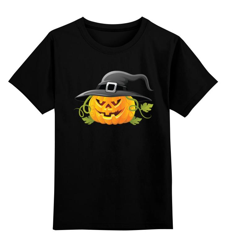 Детская футболка классическая унисекс Printio Тыква ведьма поиск семена тыква марсельеза