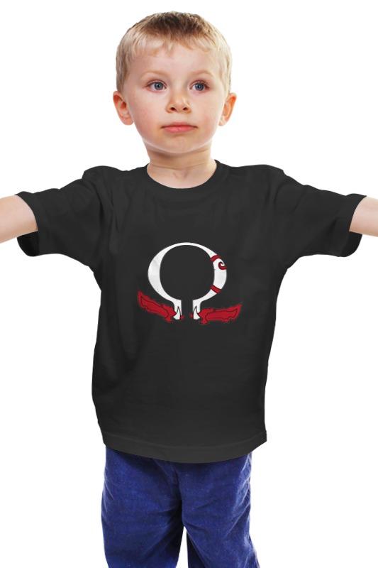 Детская футболка классическая унисекс Printio God of war art of war