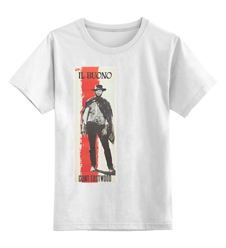 Детская футболка классическая унисекс Printio Il buono футболка wearcraft premium slim fit printio il buono