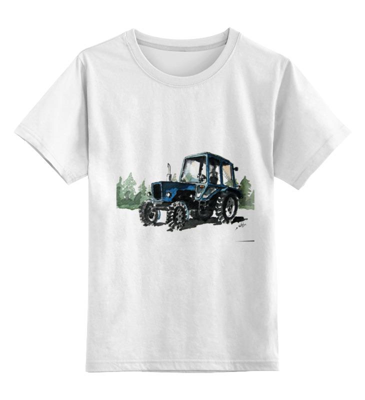 Детская футболка классическая унисекс Printio трактор от михаила доманова отсутствует автомир 44 2017