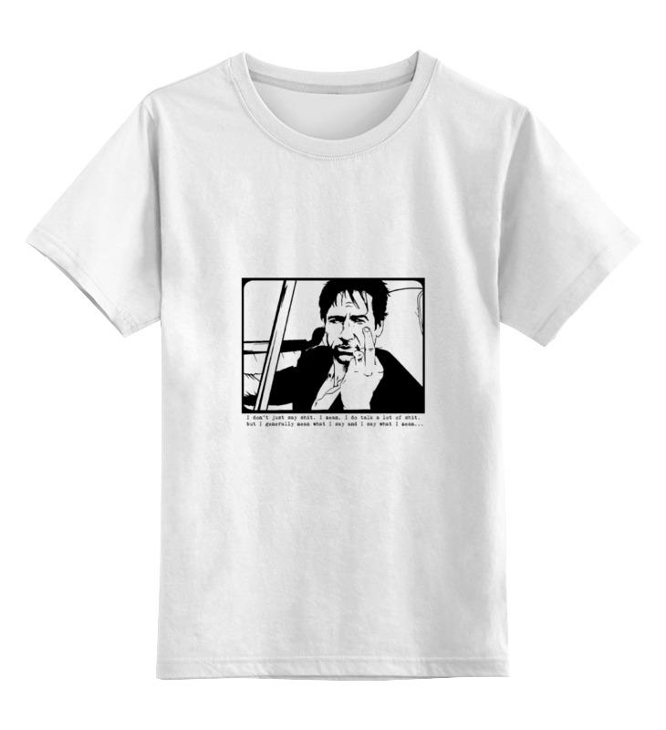 Детская футболка классическая унисекс Printio Hank moody (хэнк муди), californication i spire