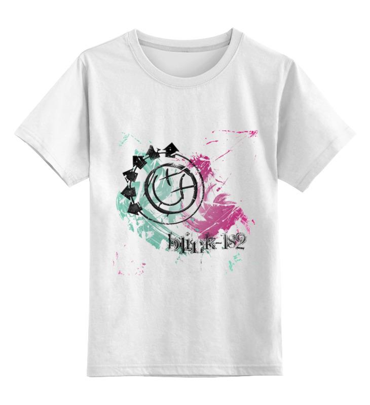 Детская футболка классическая унисекс Printio Blink-182 white детская футболка классическая унисекс printio blink 182 band