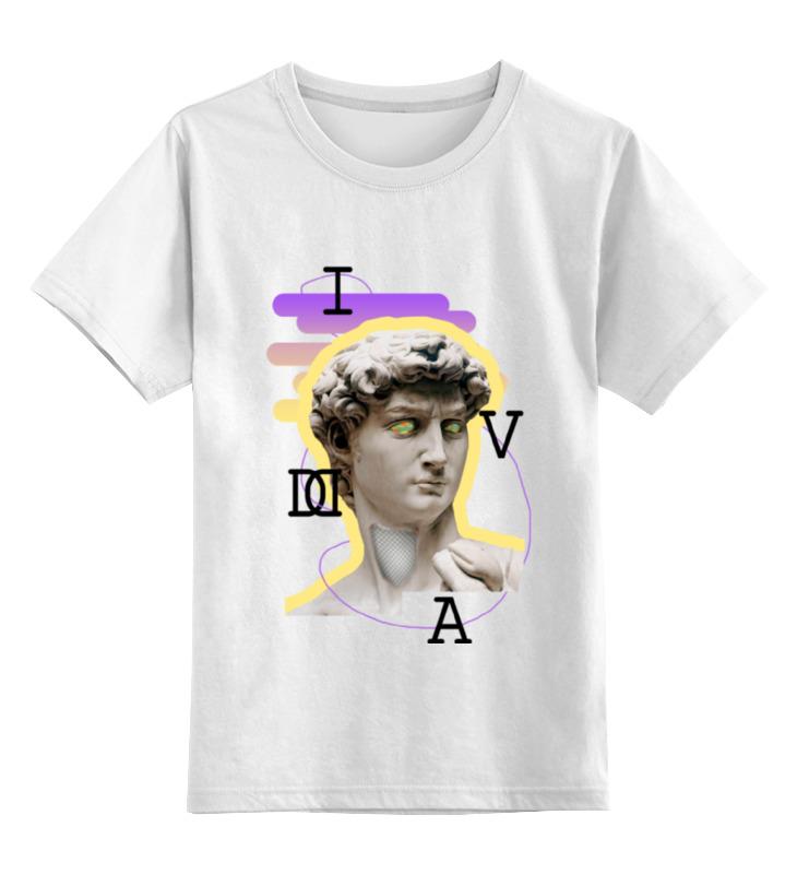 Детская футболка классическая унисекс Printio Ass david футболка wearcraft premium printio ass david