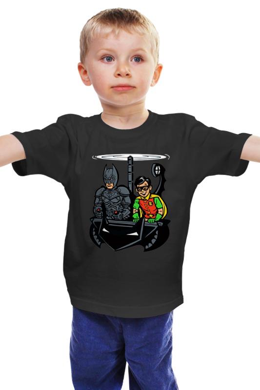 Детская футболка классическая унисекс Printio Бэтмен и робин детская футболка классическая унисекс printio бэтмен и робин
