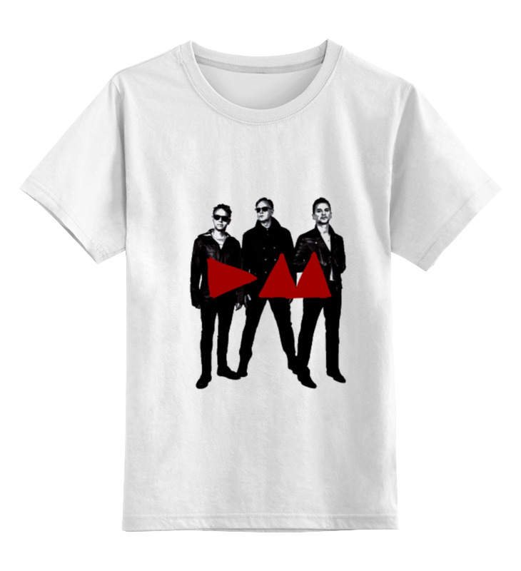 Детская футболка классическая унисекс Printio Depeche mode - band stand футболка стрэйч printio depeche mode