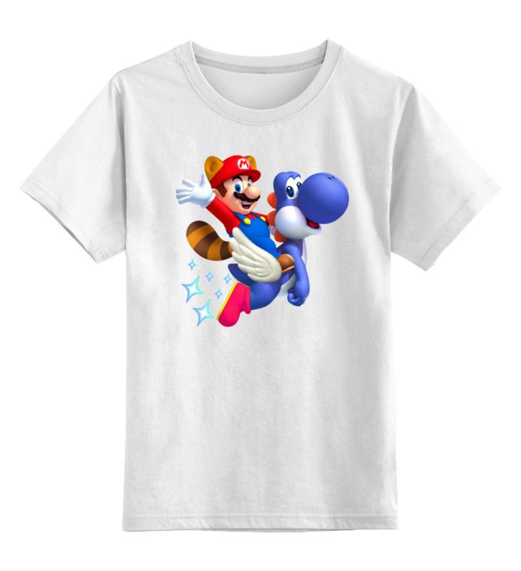 Детская футболка классическая унисекс Printio Марио детская футболка классическая унисекс printio марио
