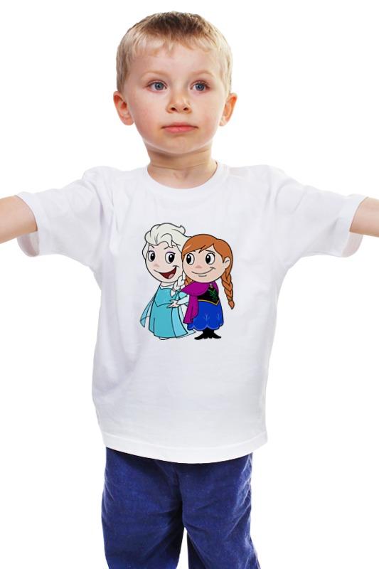 Детская футболка классическая унисекс Printio Холодное сердце zeller доска разделочная zeller 41х25 см пластик белый ffsihyd