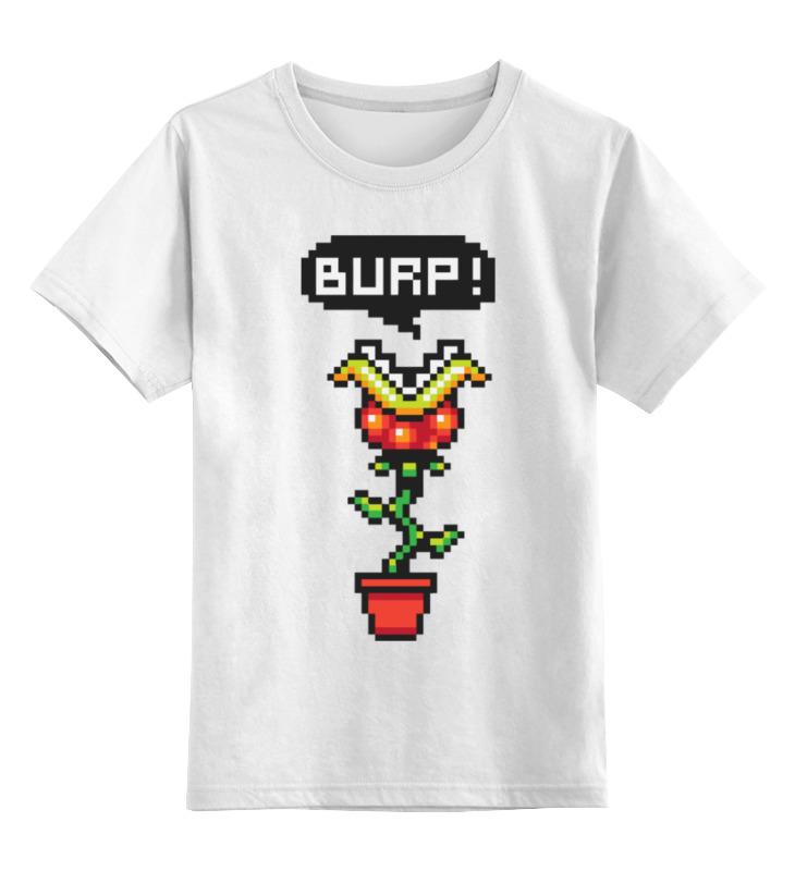 Printio Цветок из марио (8-бит) детская футболка классическая унисекс printio звезда марио 8 бит