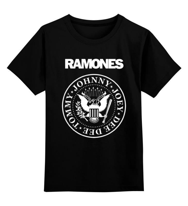 Детская футболка классическая унисекс Printio Ramones велосипед commencal ramones 20 2015