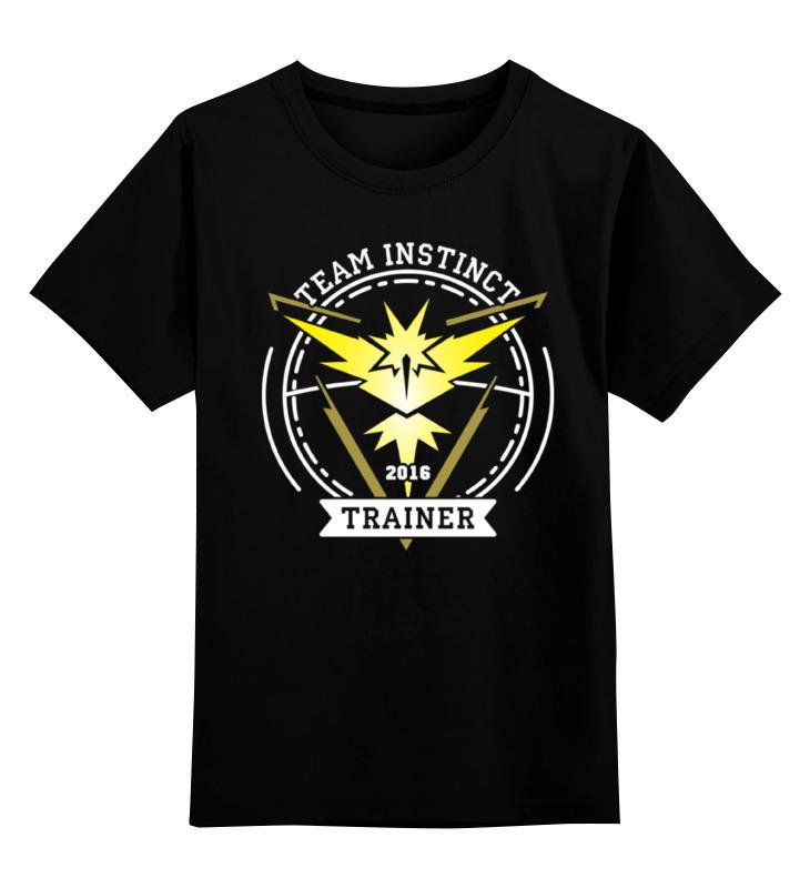 Детская футболка классическая унисекс Printio Покемоны. team instinct
