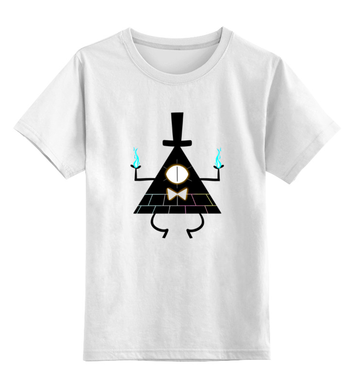 Детская футболка классическая унисекс Printio Билл шифр (гравити фолз) детская футболка классическая унисекс printio демон