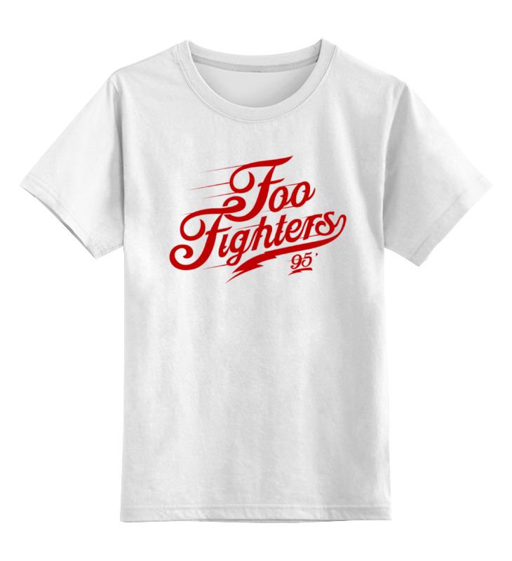 Детская футболка классическая унисекс Printio Foo fighters foo fighters foo fighters skin