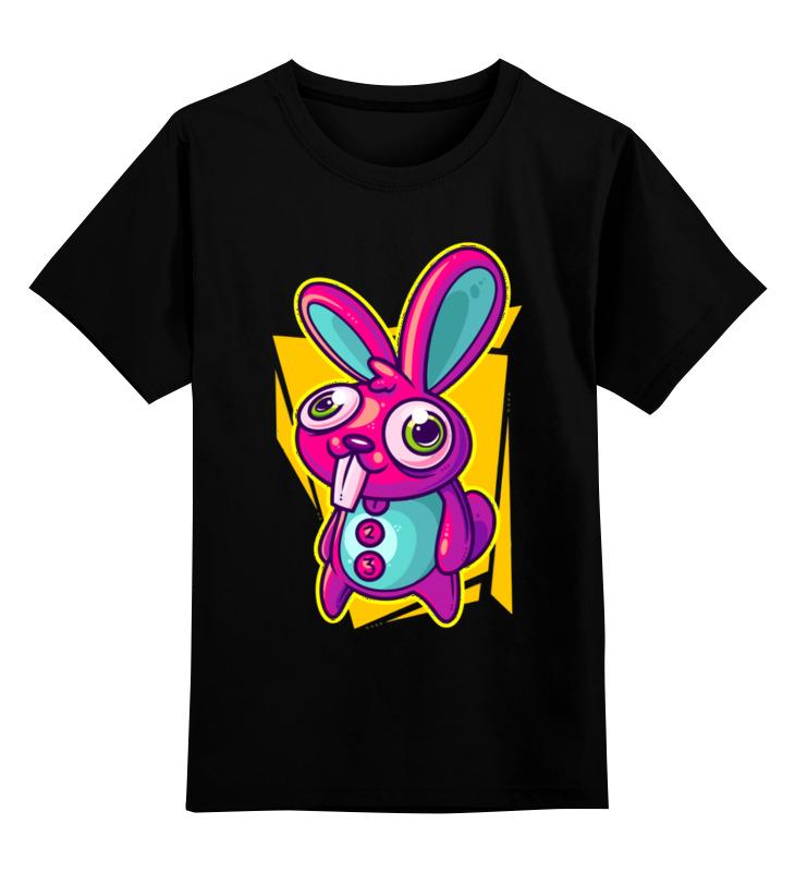 Детская футболка классическая унисекс Printio Зайка цена и фото