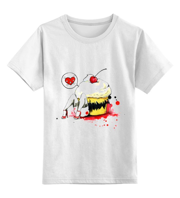 Детская футболка классическая унисекс Printio Монстр