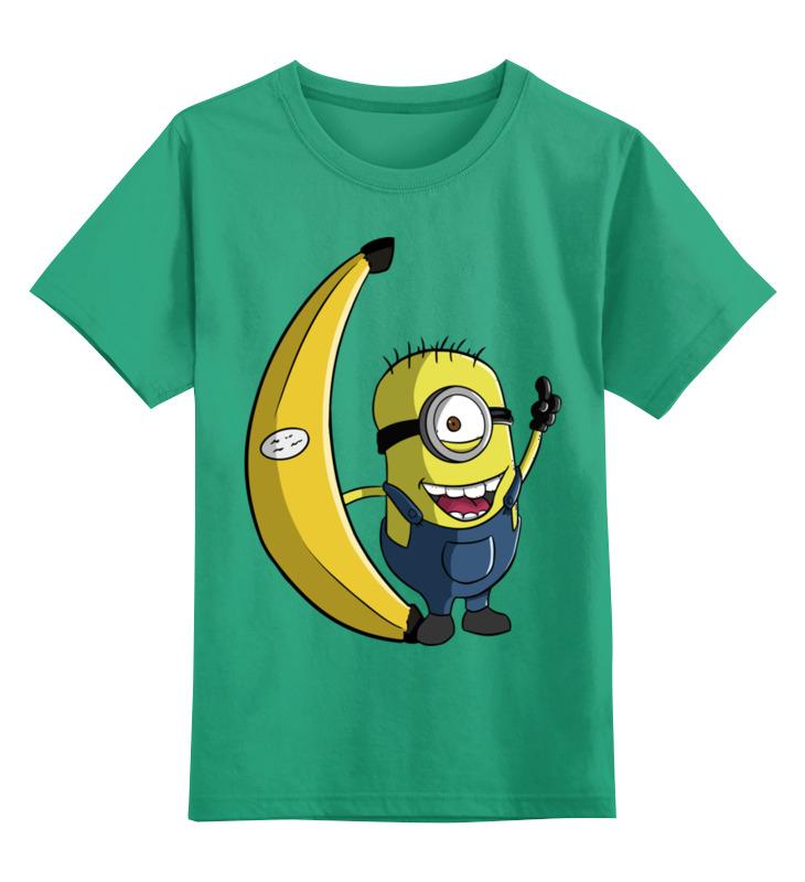 Детская футболка классическая унисекс Printio Миньон цена