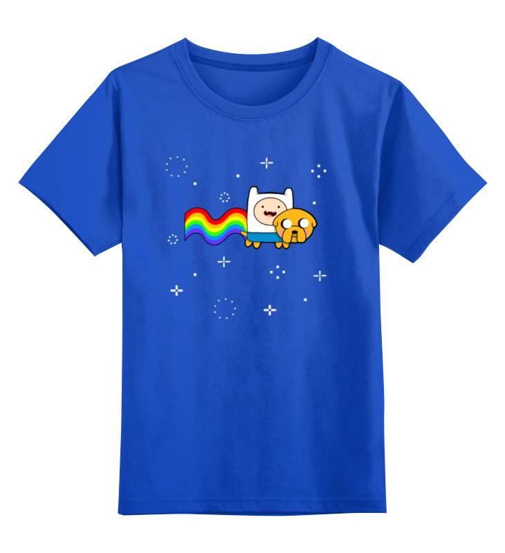 Детская футболка классическая унисекс Printio Финн и джейк (время приключений) детская футболка классическая унисекс printio время приключений джейк