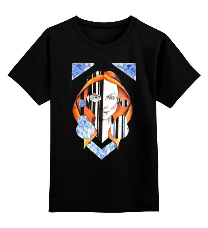 Детская футболка классическая унисекс Printio Двуликая футболка классическая printio двуликая