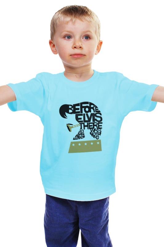 Детская футболка классическая унисекс Printio Элвис пресли (elvis presley) 31 век элвис пресли el 0717 7