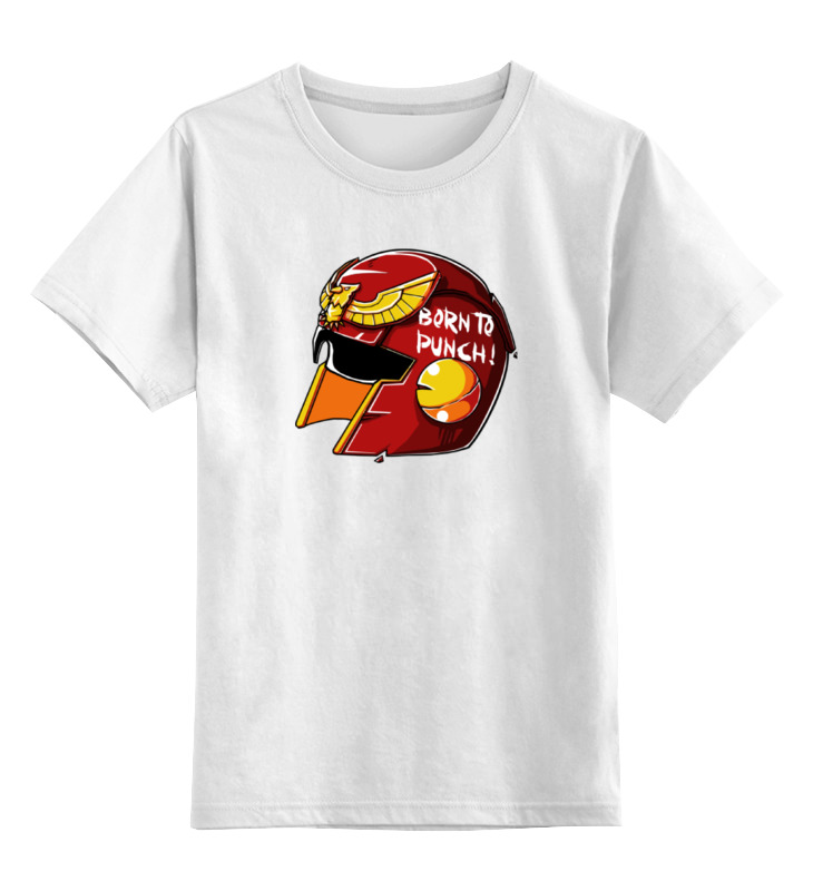 Детская футболка классическая унисекс Printio Могучие рейнджеры bandai bandai power rangers игровой набор могучие рейнджеры рейнджер с оружием
