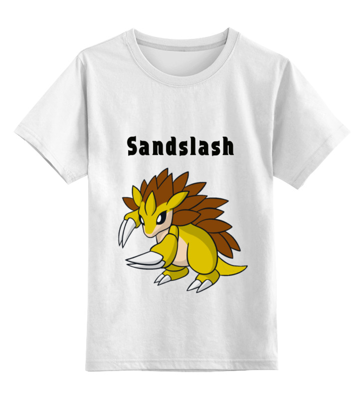 Детская футболка классическая унисекс Printio Pokemon sandslash детская футболка классическая унисекс printio rjpiuy