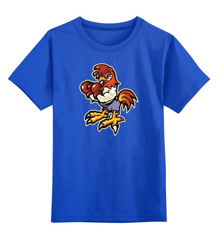 Детская футболка классическая унисекс Printio Петух боксер детская футболка классическая унисекс printio панда боксер