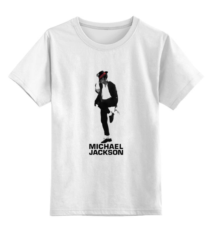 Детская футболка классическая унисекс Printio Michael jackson shaik 70