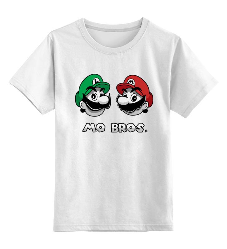 Детская футболка классическая унисекс Printio Братья марио детская футболка классическая унисекс printio супер марио