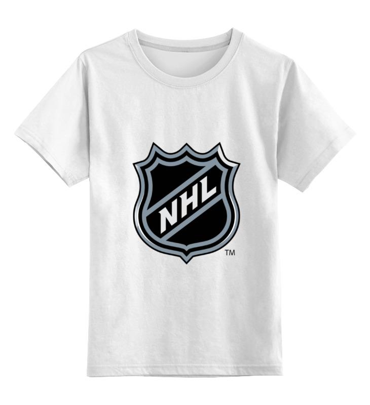 Детская футболка классическая унисекс Printio Национальная хоккейная лига