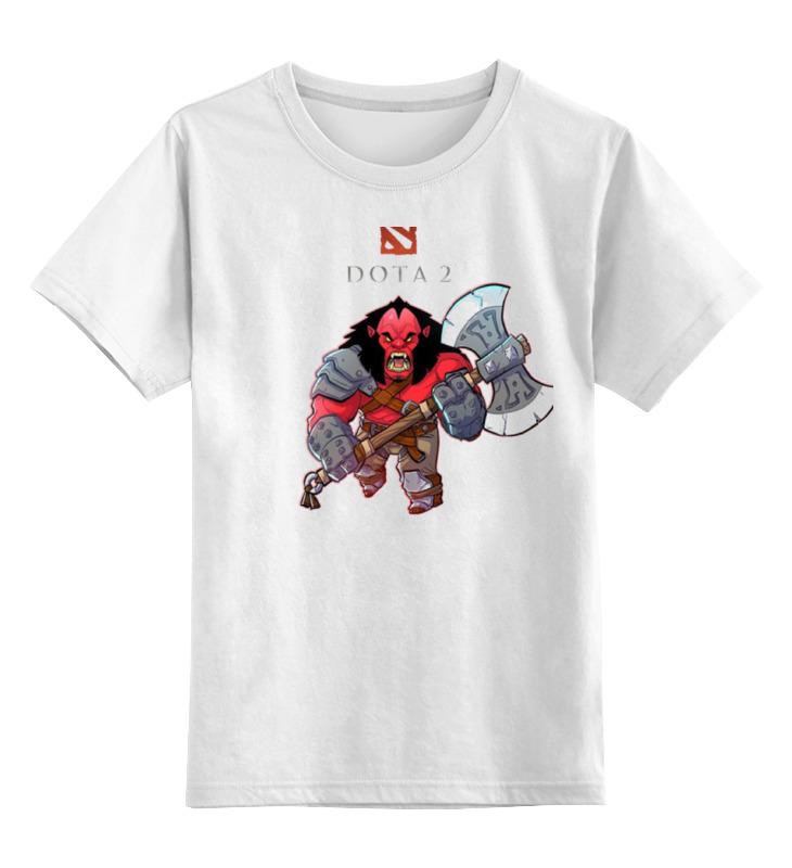 Детская футболка классическая унисекс Printio Дота 2 акс футболка классическая printio dota 2 дота 2