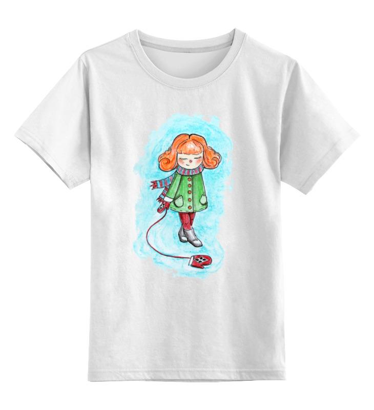 Детская футболка классическая унисекс Printio Варежка чудо варежка москва в украине