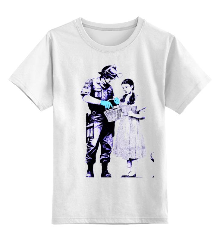 Детская футболка классическая унисекс Printio Dorothy police search