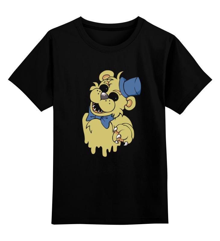 Детская футболка классическая унисекс Printio Golden freddy детская футболка классическая унисекс printio five nights at freddy