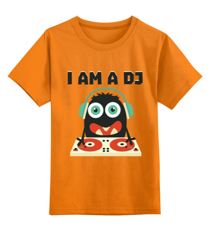 Детская футболка классическая унисекс Printio Ди джей майка классическая printio ди джей