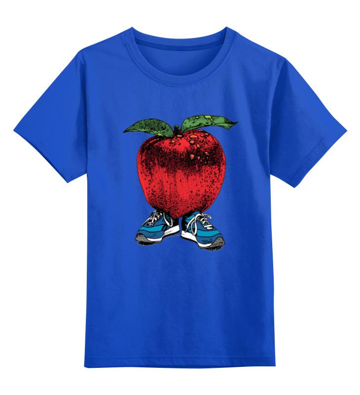 Детская футболка классическая унисекс Printio Яблоко футболка ехидна футболка яблоко от яблони