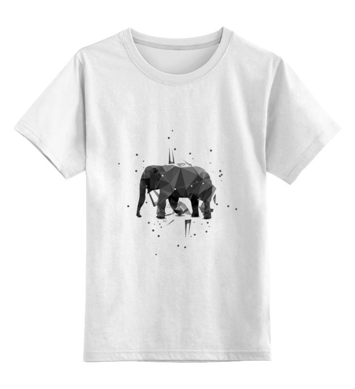 Детская футболка классическая унисекс Printio Elephant анна игнатова вектор пластилина