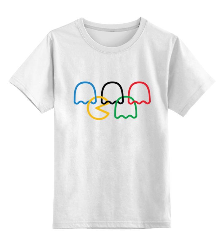 Детская футболка классическая унисекс Printio Пакман