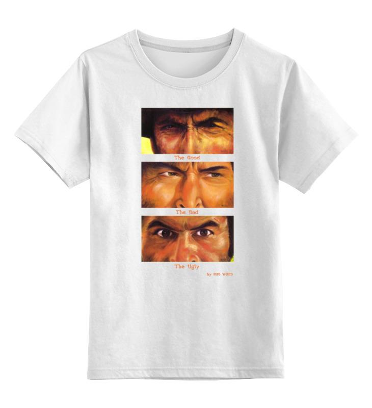 Детская футболка классическая унисекс Printio dollar trilogy коляска inglesina 3 в 1 trilogy system colors на шасси trilogy city black aa 35 h0ppk ae 38 h 0000 s розовая