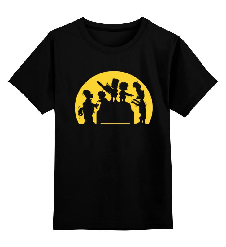 Детская футболка классическая унисекс Printio Симпсоны зомби детская футболка классическая унисекс printio зомби россия