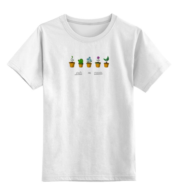 Детская футболка классическая унисекс Printio Цветули