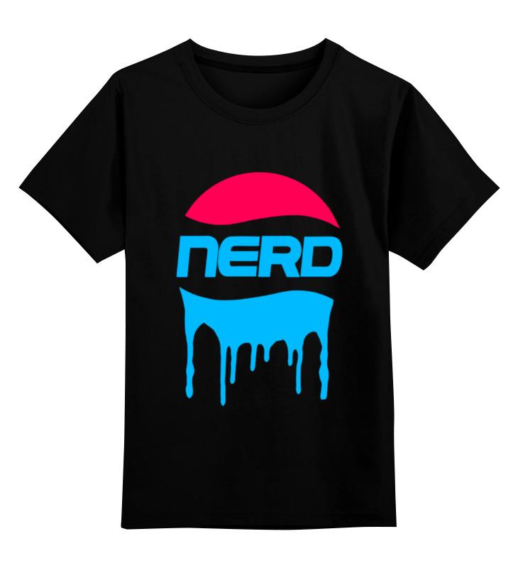 Детская футболка классическая унисекс Printio Nerd. майка классическая printio nerd