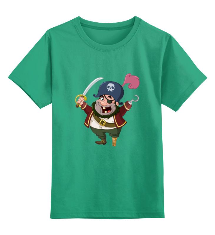 Детская футболка классическая унисекс Printio Одноногий сильвер