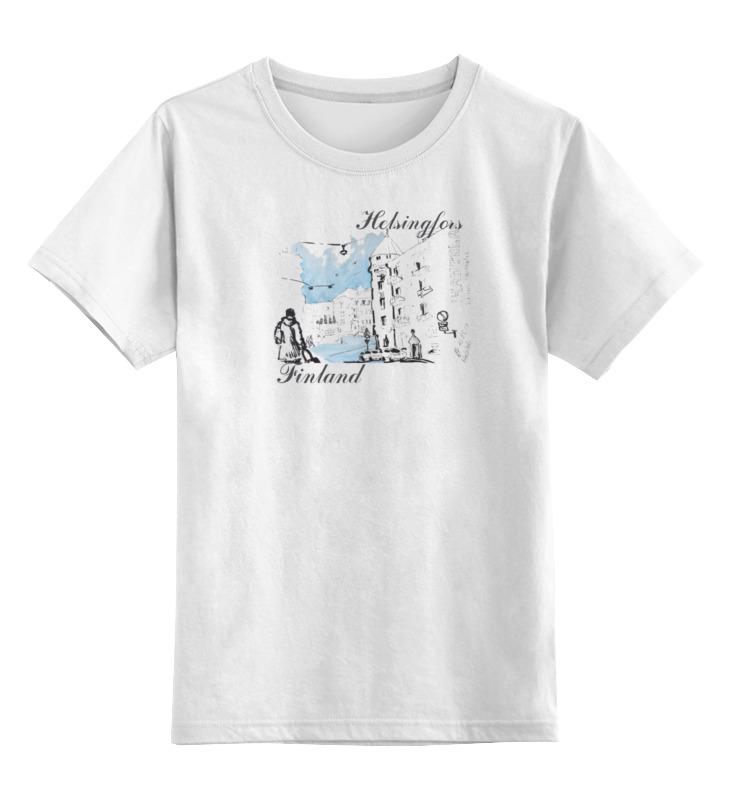 Детская футболка классическая унисекс Printio Helsingfors цена