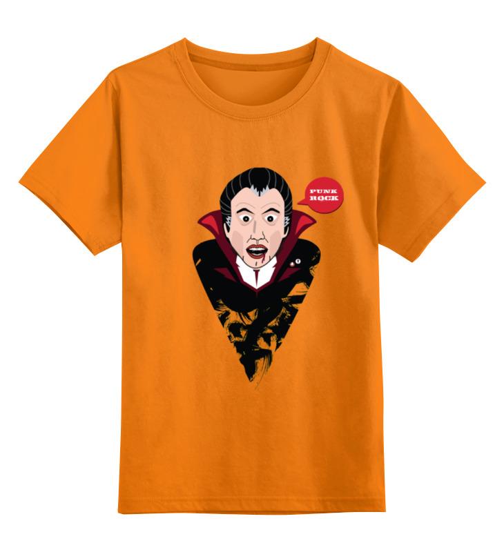Детская футболка классическая унисекс Printio Dracula countess dracula