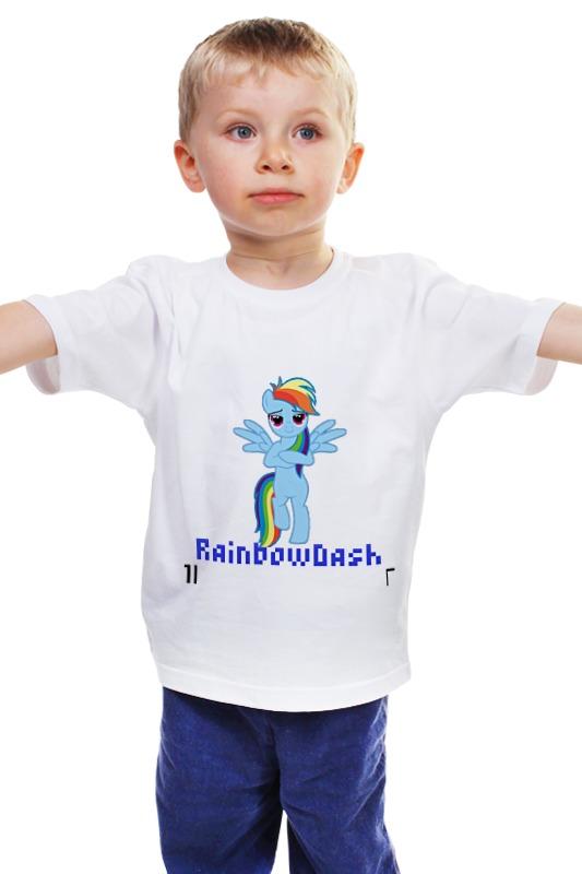 Детская футболка классическая унисекс Printio Rdash2 детская футболка классическая унисекс printio 62 2% в саратове