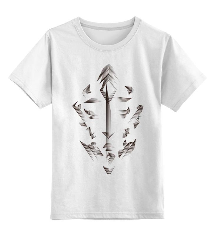 Детская футболка классическая унисекс Printio Орнаментальная графика лицо детская футболка классическая унисекс printio не мое лицо