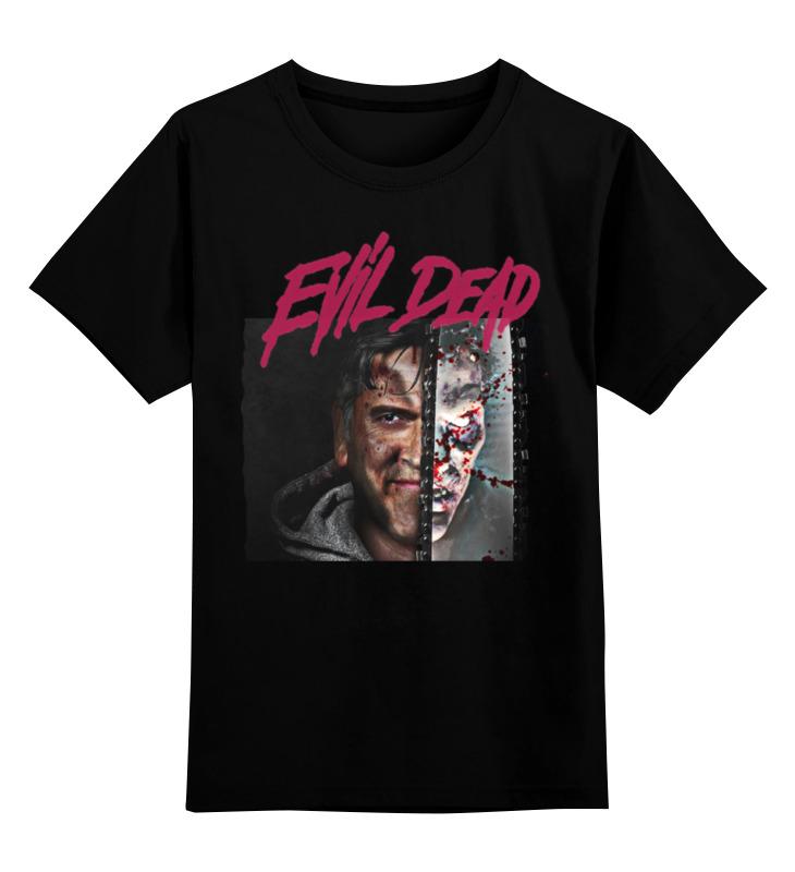 Детская футболка классическая унисекс Printio Evil dead детская футболка классическая унисекс printio dead pool