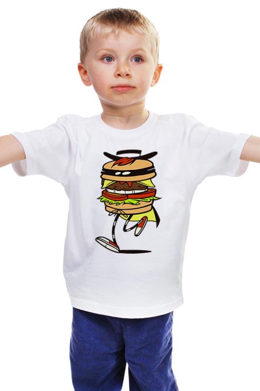 Детская футболка классическая унисекс Printio Фастфуд детская футболка классическая унисекс printio мачете