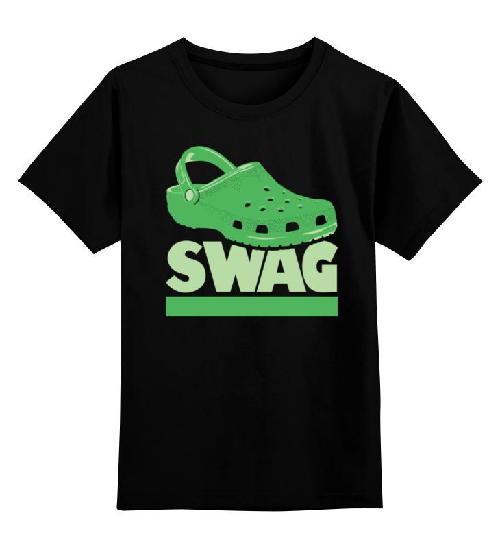 Детская футболка классическая унисекс Printio Swag (свэг) футболка классическая printio swag свэг