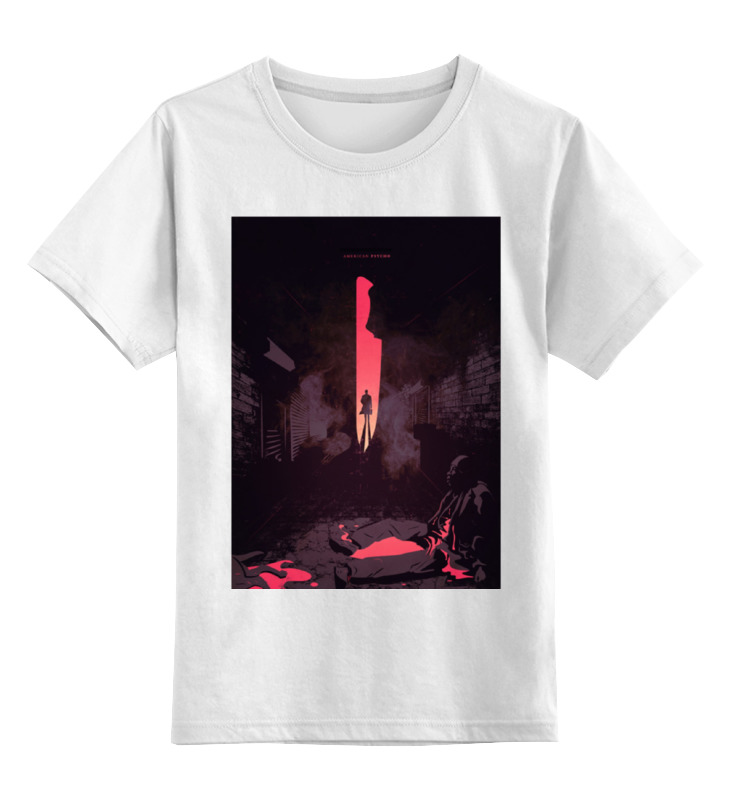 Детская футболка классическая унисекс Printio Американский психопат / american psycho
