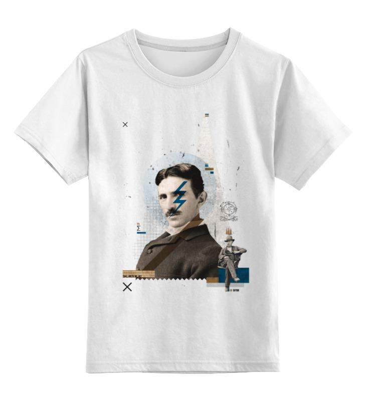 Детская футболка классическая унисекс Printio Nikola soyak nikola tesla collector bobblehead